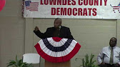 Come to meetings --Demarcus Marshall, Lowndes County Comm. Dist. 4