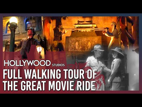A Full Walking Tour of the Great Movie Ride at Disney's Hollywood Studios