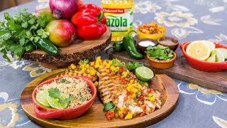 Home & Family - Christina Cooks Bright & Spicy Chicken With Mango Salsa
