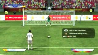 World Cup 2010 Road to the Finals Penalty Shootout for Championship Game
