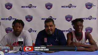 Sanger High Post Game Press Conference - Central Valley Showdown 1/5/19