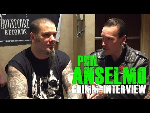 Phil Anselmo Grimm-Interview (Days of the Dead Atlanta 2016)