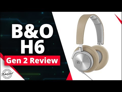 B&O H6 Premium Headphones (Gen 2) Best Audio Gift Under $300!!