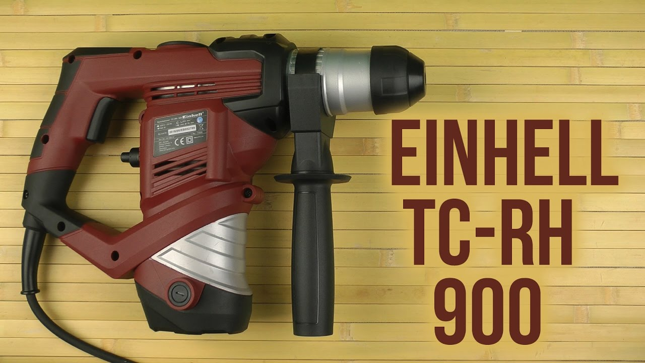 Распаковка einhell tc-rh 900 - youtube