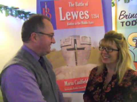 The Battle of Lewes, interview with Author Maria Caulfield