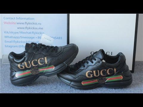 ea5812c0c03 Gucci Rhyton Vintage