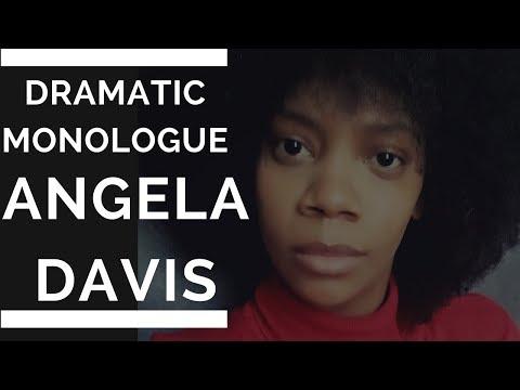 Dramatic Monologue Thursday/ Angela Davis