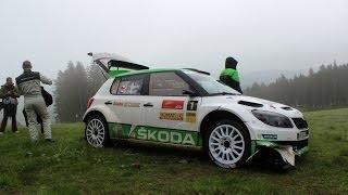 Jan Kopecký - Crash RZ14 Rally Český Krumlov 2014