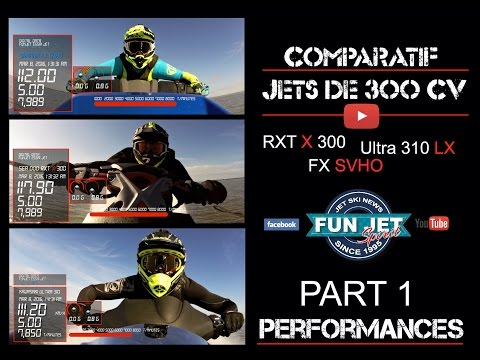 Comparatif jets super sportifs 2016 - Part 2 - Performances / Testing jet ski 2016