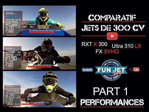 Comparatif jets super sportifs 2016 - Part 2 - Performances / Testing jet ski 2016