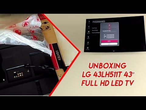 Unboxing LG 43LH511T 43″ Full HD LED TV