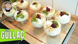 Porsiyonluk kupta Güllaç Tarifi-Ramazanin en güzel lezzetli tatlisi-Hatice mazi