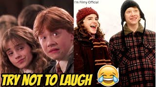 Harry Potter Hilarious Romantic Scenes - Try Not To Laugh With Emma Watson 207