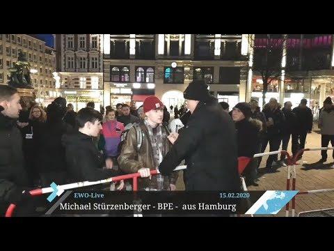 Diskussion mit jungen Linken in Hamburg über Kritik am Politischen Islam