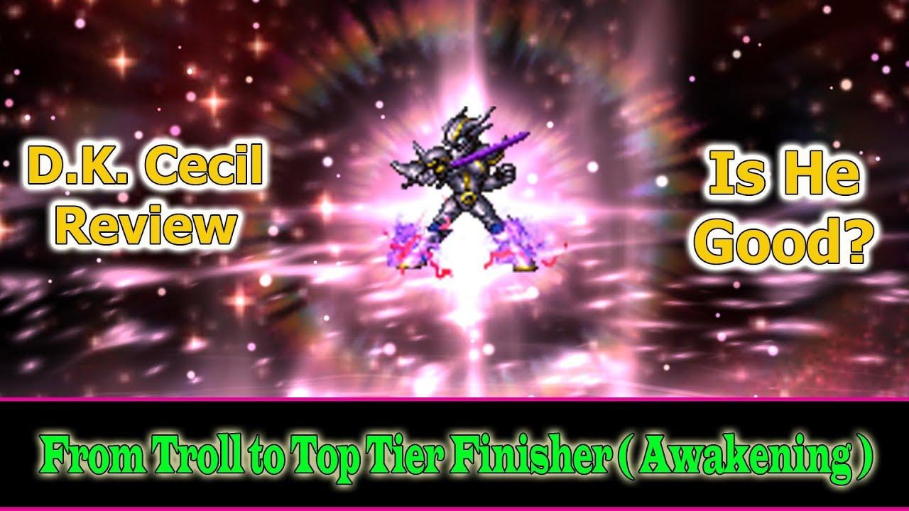 bester Preis zuverlässige Qualität Preis bleibt stabil Final Fantasy Brave Exvius 6 stars Dark Knight Cecil Review: I am not Troll  Anymore(#176)