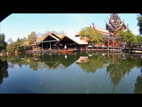 Going to Sanctuary Of Truth Pattaya Thailand 01/30/2017 [v006]