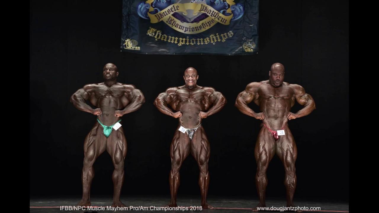 Charles Griffin vs Akim Willams: 2018 IFBB Muscle Mayhem Pro Recap