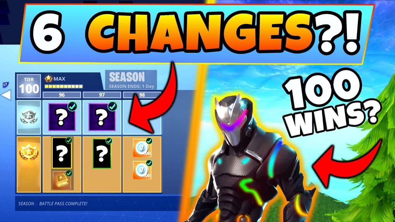 Fortnite Season 5 Battle Pass 6 Changes We Need New Cosmetics