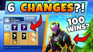 Fortnite Season 5 BATTLE PASS: 6 CHANGES we NEED! – New Cosmetics/Skins? (Battle Royale Update)