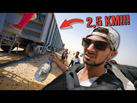 Sneaking Into The Longest Train in The World!
