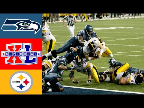 Seahawks Vs Steelers Super Bowl XL (HD)