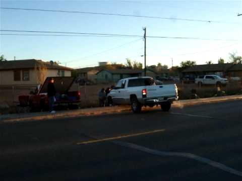 Truck Stuck in Tuba City, Arizona
