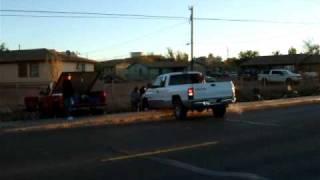 Truck Stuck in Tuba City, Arizona