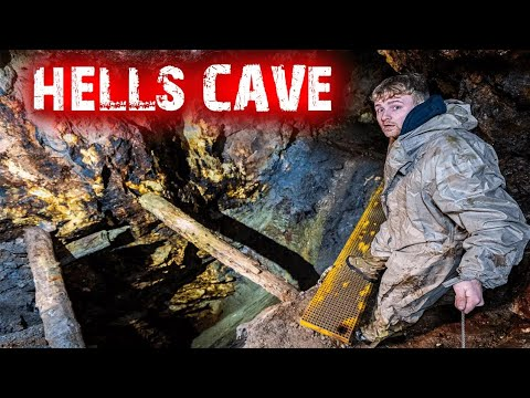 Download OVERNIGHT In World's Most Dangerous Cave | Dont Look Down!
