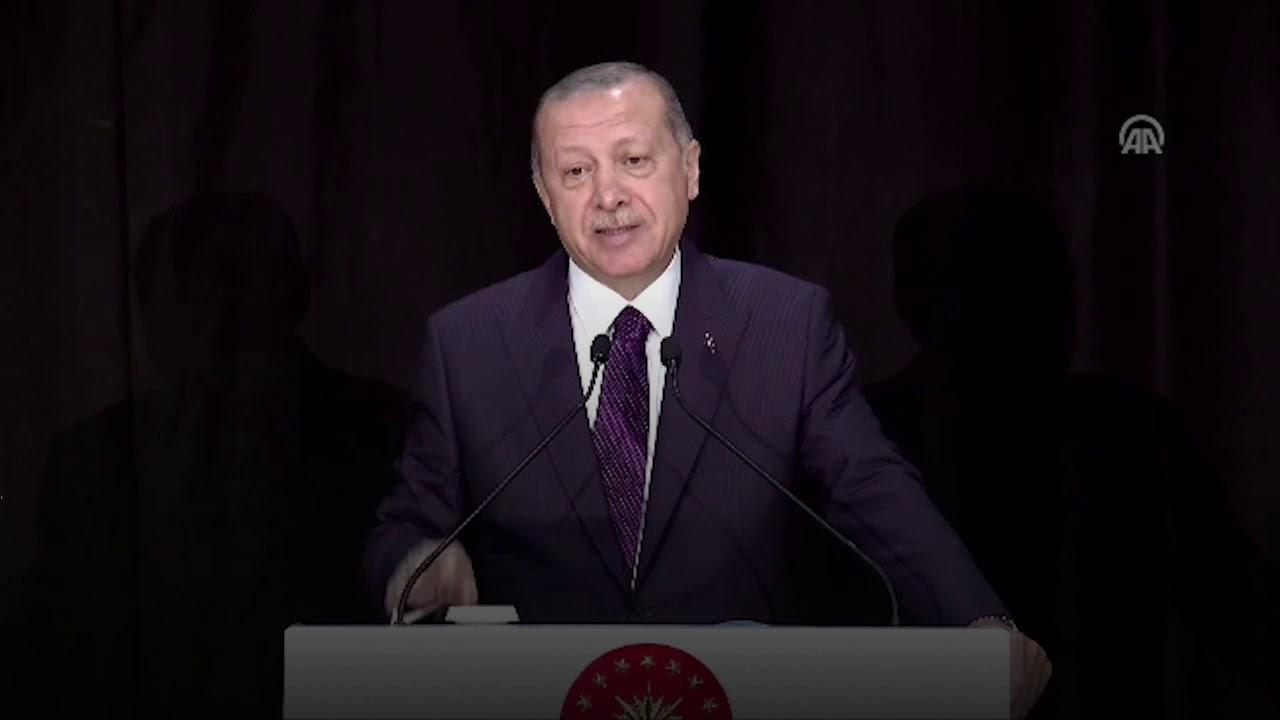 Cumhurbaşkanımız Erdoğan, Yeni Eğitim Yılı Açılışı'nda Nevruz'a adlı şiirden dizelerle seslendi