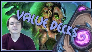 When 2 value decks collide | Taunt druid | The Witchwood | Hearthstone