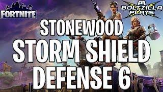 Fortnite: Stonewood Storm Shield Defense 6