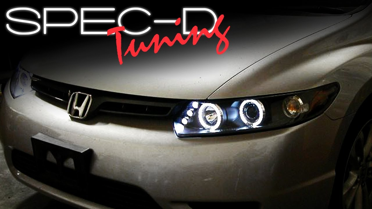 Specdtuning Installation Video 2006 2011 Honda Civic 2