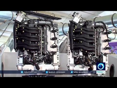 Iran made Marine outboard gasoline engine dubbed Tous ساخت موتور دريايي طوس ايران