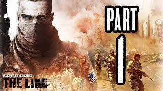 ► Spec Ops: The Line | #1 | Písečná bouře! | CZ Lets Play / Gameplay [1080p] [PC]