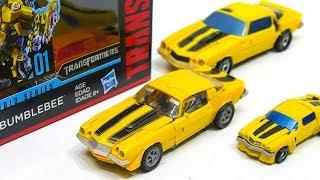 Transformers Movie Studio Series SS 01 Deluxe Bumblebee 1970 Camaro Vehicle Car Robot Toys