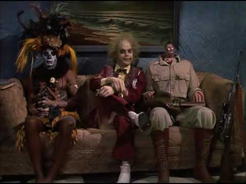 Beetlejuice Shrunken Head Guy Youtube