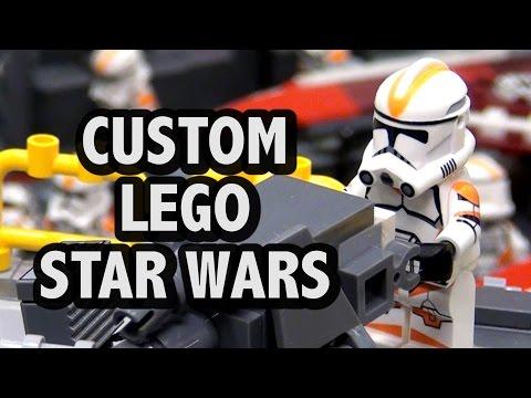 LEGO Corellia Clone Supply Base   BrickFair Virginia 2016