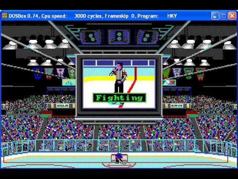 Wayne Gretzky Hockey Season 1 Night 2 Game 1: Bruins at Nordiques