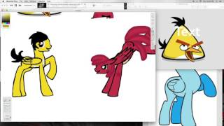 Making Angry Birds as Ponies Speedpaint (Request)