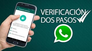 Cómo activar la VERIFICACIÓN EN 2 PASOS en Whatsapp
