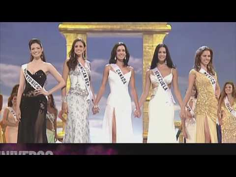 Miss Universe 2005 Crowning moment