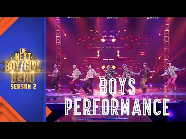 Team Boys Performance Hapus Aku I Episode 9 I The Next Boy/Girl Band S2 GTV