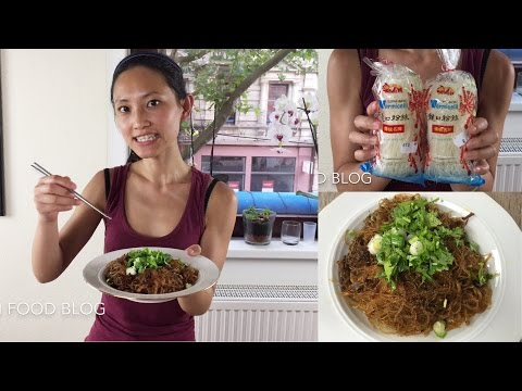 Ants climbing a tree stir fry vermicelli noodle with spicy mince Sichuan food Chinese food 四川料理蚂蚁上树