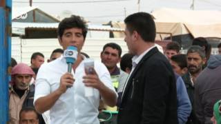 محمد الديري، أول خريج جامعي في مخيم الزعتري: