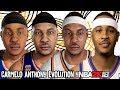 Carmelo Anthony Evolution - Face Comparison (NBA 2K4 - NBA 2K18)