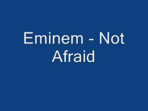 Eminem - Not Afraid (Clean)