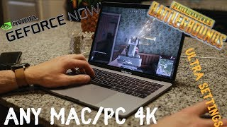 How to Play PUBG on ANY Mac! (not clickbait) 4k ULTRA