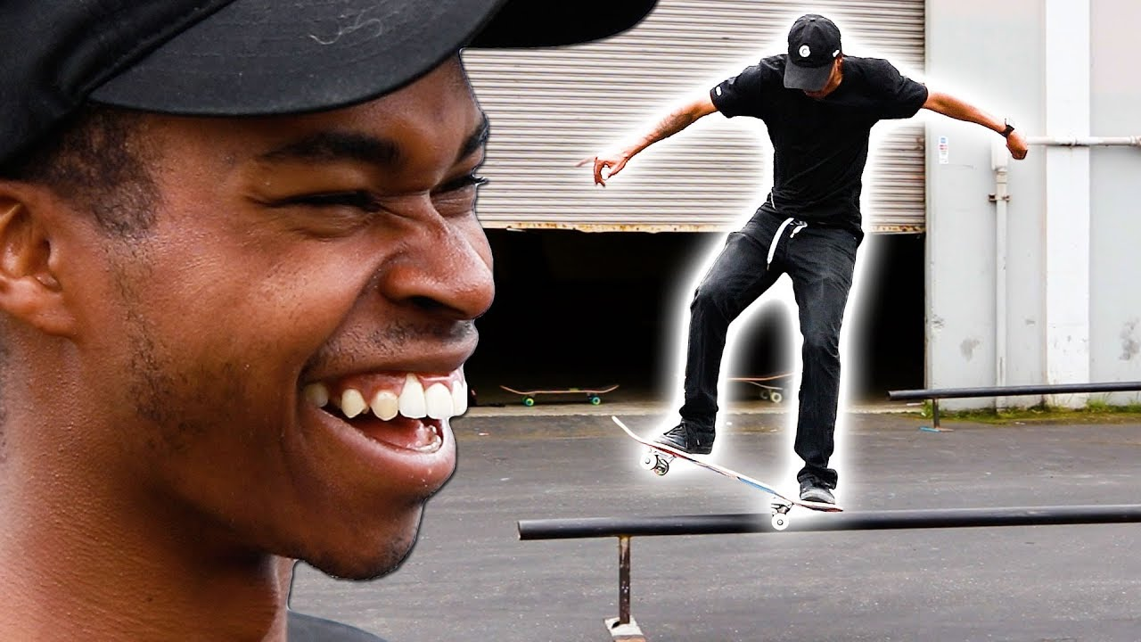 NIGEL LEARNS HIS MOST FEARED RAIL TRICK! ft  Fetty Potter