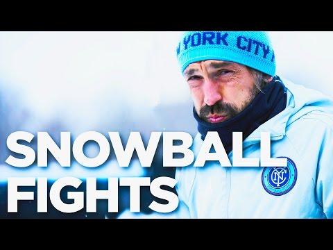 Team Snowball Fights & Patrick Vieira Plays | INSIDE TRAINING