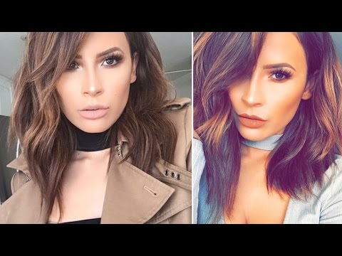 How I Style My Shorter medium length  Hair | CHIC-Y DEEKY HAIR | DesiPerkins